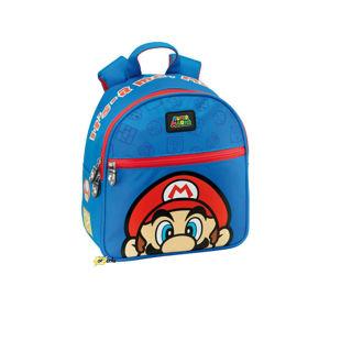 Immagine di Zainetto Asilo Super Mario Bros Colore Blu