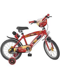 "Immagine di Bicicletta Cars Satta Mcqueen Disney Pixar 16"""