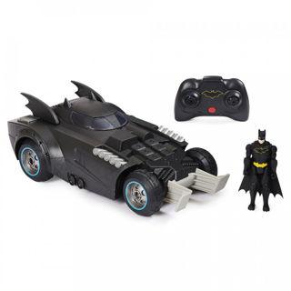 Immagine di Batman Batmobile Radiocomandata Con Batman 10 Cm
