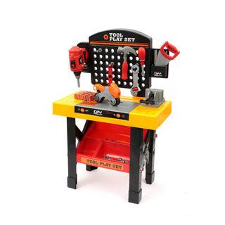 Immagine di Smonta&rimonta - Banchetto Lavoro 54 Pezzi Trapano Funzionante