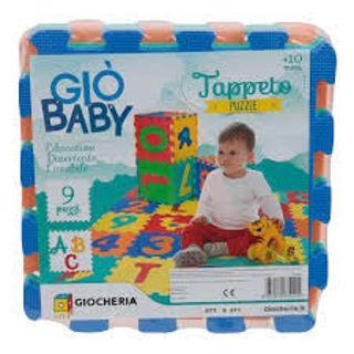 Immagine di Gio Baby - Tappeto Eva Lettere 9 Pezzi
