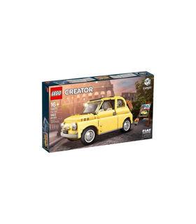 Immagine di Creator Fiat 500 Gialla 10271