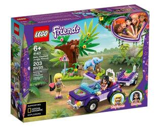 Immagine di Lego Friends Salvataggio Nella Giungla Dell'elefante 41421
