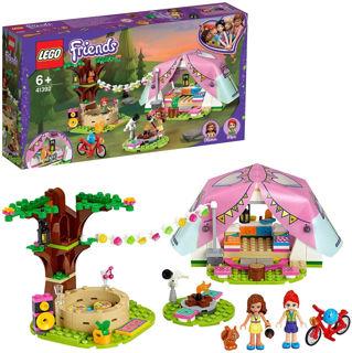 Immagine di Lego Friends Glamping Nella Natura 41392