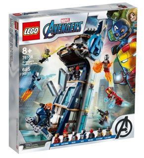 Immagine di Lego Marvel Battaglia Sulla Torre Degli Avengers 76166