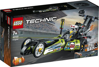 Immagine di Lego Technic Dragster 42103