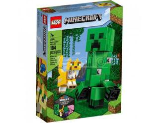 Immagine di Lego Minecraft- Maxi-figure Creeper E Gattopardo