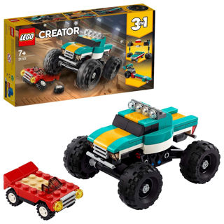 Immagine di Lego Creator 3 In 1 Monster Truck 31101