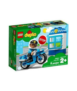 Immagine di Moto Della Polizia - Lego Duplo Town (10900)