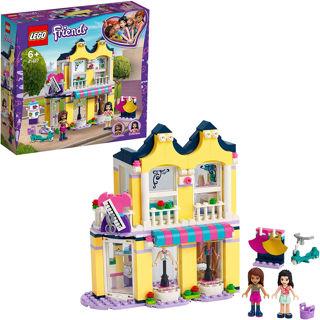 Immagine di Lego Friends Playset Il Negozio Fashion Di Emma Con Emma E Andrea