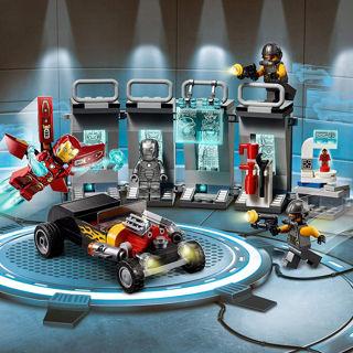 Immagine di Super Heroes Armeria Di Iron Man Set