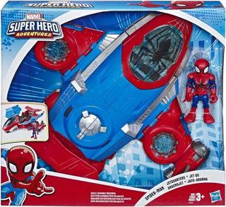 Immagine di Sha Mini Mighties Spiderman Jetquarters E4840eu4