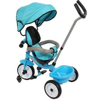 Immagine di Triciclo Colibrino Azzurro Con Sedile Girevole A 360°