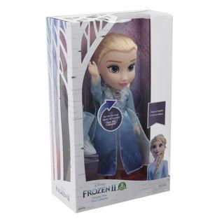 Immagine di Frozen 2 - Elsa Travel Doll Cantante Abito Speciale Di Giocheria