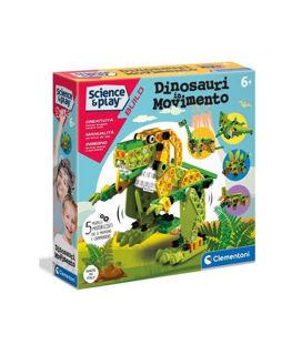 Immagine di Dinosauri In Movimenti 5 Modelli Motorizzati
