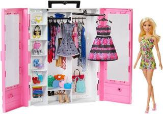 Immagine di Barbie Fashionistas Playset Armadio Da Sogno Con Accessori