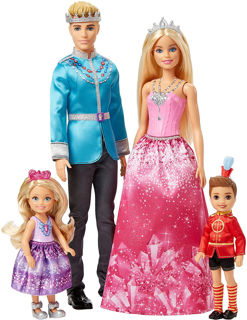 Immagine di Barbie Dreamtopia Famiglia Reale
