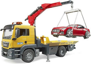Immagine di Camion Man Tgs Con Auto (3750) C/luci E Suoni