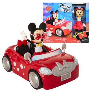 Immagine di Minnie Con Auto Minnie Cooper