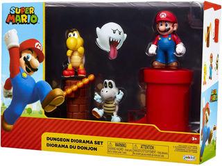 Immagine di Super Mario Playset Pianura Delle Ghiande + Personaggio Originale Nintendo
