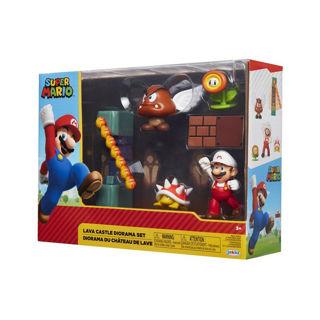 Immagine di Super Mario Set Diorama Castel Lava 5 Pz Nintendo