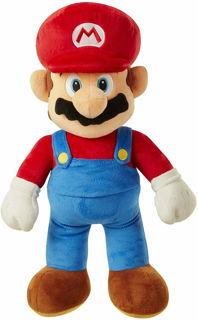 Immagine di Super Mario Personaggio Peluche Jumbo 50 Cm Originale
