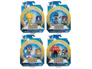Immagine di Sonic Personaggio 10 Cm Con Accessorio Wave 2