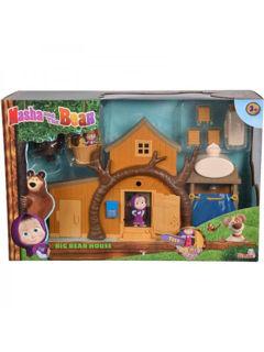 Immagine di Casa Grande Di Orso Con Personaggi 35 x 22 x 11 Cm (109301032)