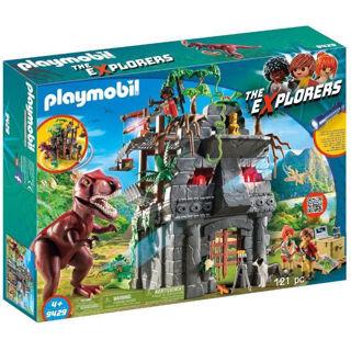 Immagine di Playmobil Campo Base E T-rex 9429