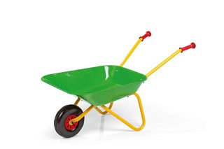Immagine di Carriola In Ferro Verde -grande -rolly Toys