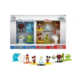 Immagine di Disney Nano Metalfigs Diecast Mini Figures 10-pack Wave 1 4 Cm