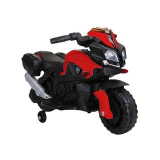 Immagine di Moto Speed Rossa Con Sedile In Pelle 6v
