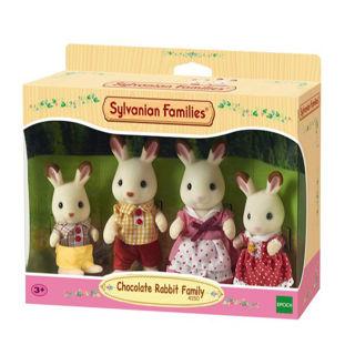 Immagine di Famiglia Conigli Cioccolato (4150)