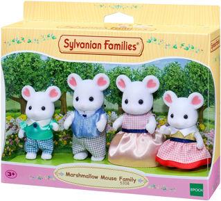 Immagine di Famiglia Topolini Bianchi Marshmallow