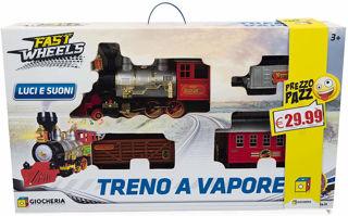 Immagine di Treno Classico Hold Western Locomotiva Con Fumo