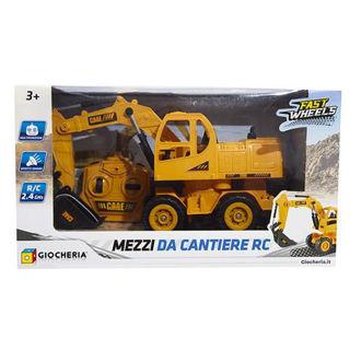 Immagine di R/c Mezzi Lavoro Ruspa Escavatore E Pala Rc