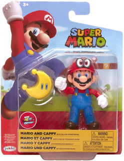 Immagine di Super Mario Mario E Cappy Personaggio 8 Cm Originale Nintendo