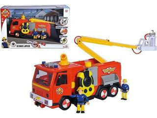 Immagine di Pompiere Camion Deluxe Jupiter Con 2 Personaggi Sam E Penny