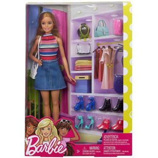 Immagine di Barbie Stilista Armadi Ed Accessori