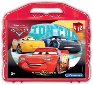 Immagine di Cars 3 Puzzle Cubi, 12 Pezzi, 41185