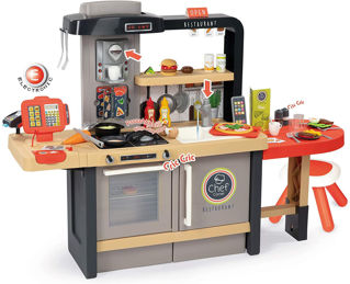 Immagine di Cucina Chef Corner Restaurant Con 70 Accessori
