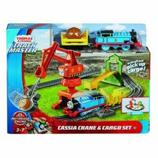 Immagine di Thomas & Amici Trackmaster Motorizzato Gru & Cargo Set