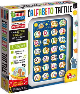 Immagine di Montessori Alfabetiere Tattile Elettronico