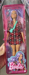Immagine di Barbie Fashionistas 157 Lavender Hair, Cowgirl Boots