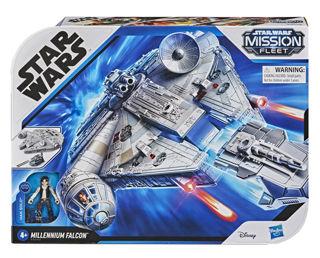 Immagine di Star Wars Missione Flotta Deluxe Veicolo Falcon