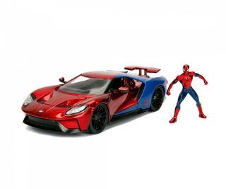 Immagine di Spiderman 2017 Ford Gt + Personaggio