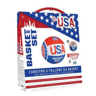 Immagine di Canestro E Pallone Set Usa