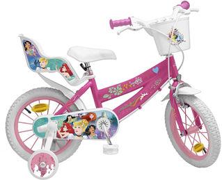 """Immagine di Bicicletta Da Bambina, 14"""" Principesse Disney"""