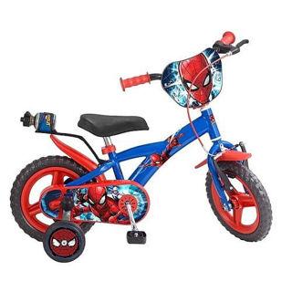 """Immagine di Bicicletta Spiderman Marvel Uomo Ragno 12"""""""