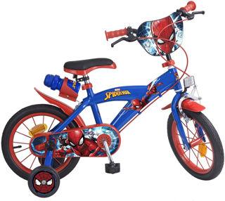 """Immagine di Bicicletta Spiderman Uomo Ragno Marvel 14"""""""